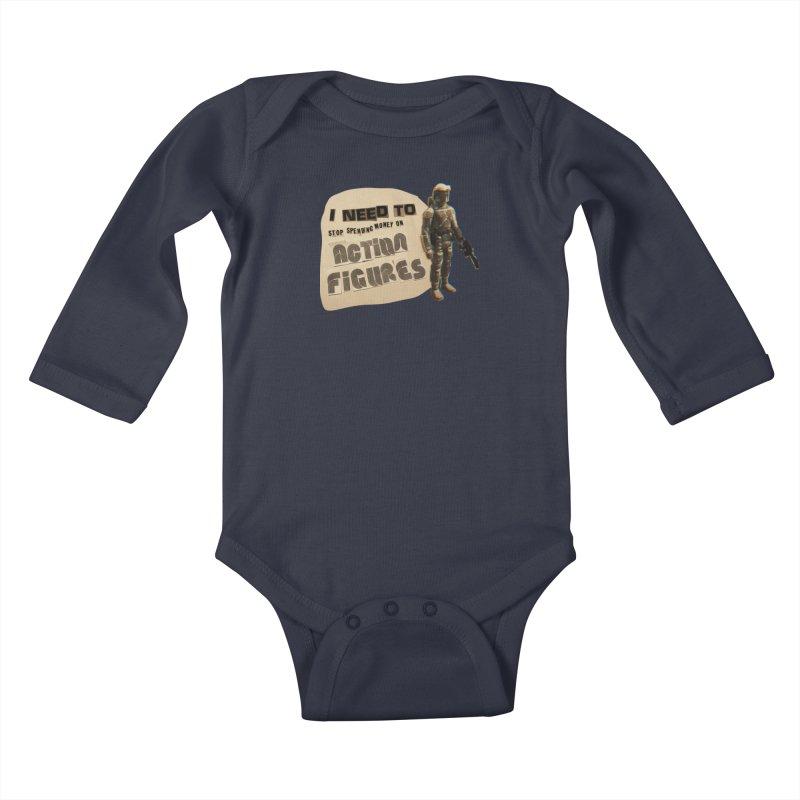 Bounty Hunting is a Complicated Profession Kids Baby Longsleeve Bodysuit by WishEyeVeiw's Tshirt & Junk Emporium!
