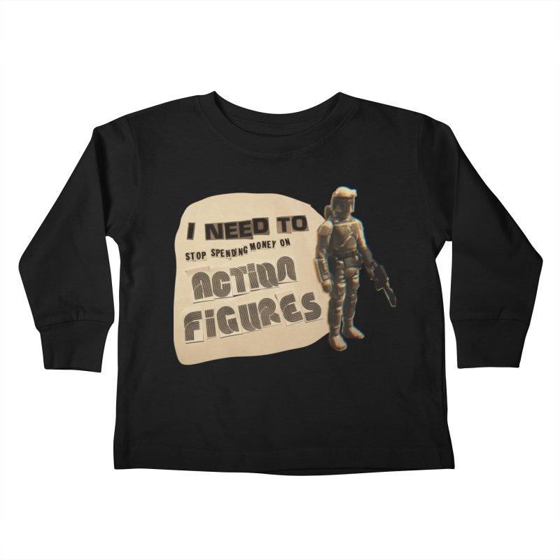 Bounty Hunting is a Complicated Profession Kids Toddler Longsleeve T-Shirt by WishEyeVeiw's Tshirt & Junk Emporium!