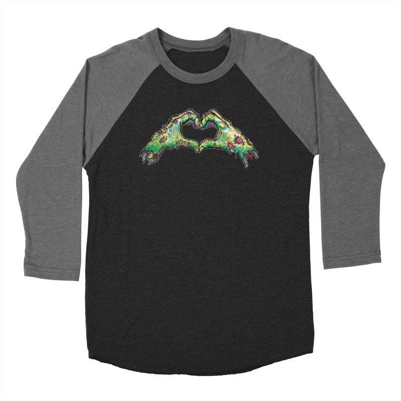 Zombie Heart Hands (dudes) Men's Baseball Triblend Longsleeve T-Shirt by WishEyeVeiw's Tshirt & Junk Emporium!