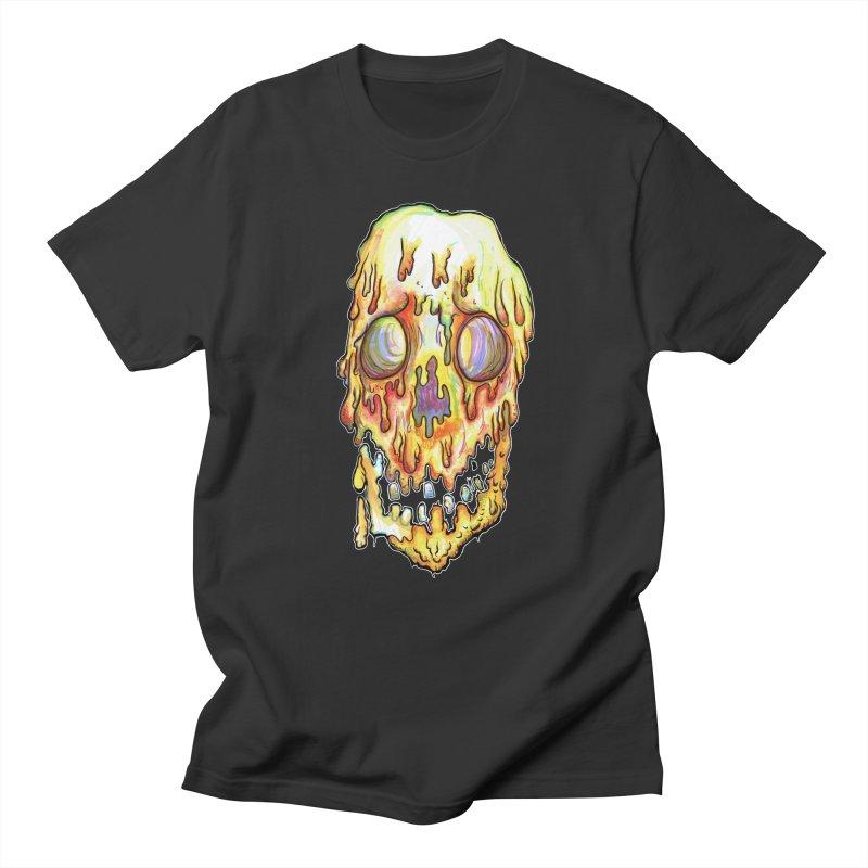 MeltFace Men's Regular T-Shirt by WishEyeVeiw's Tshirt & Junk Emporium!