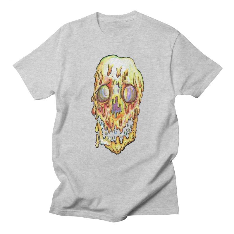 MeltFace Men's Regular T-Shirt by wisheyeveiw's Artist Shop