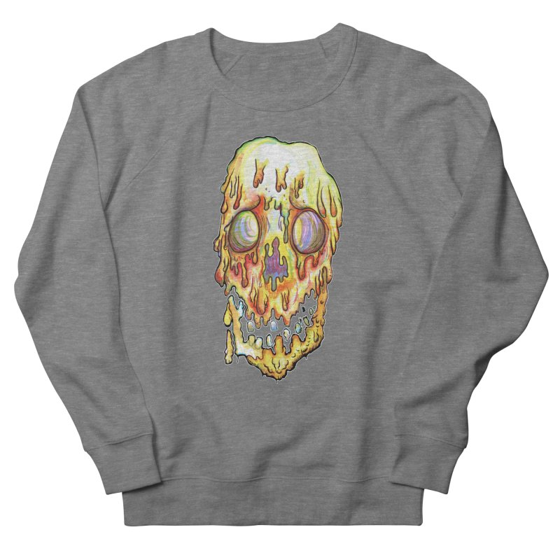 MeltFace Men's French Terry Sweatshirt by WishEyeVeiw's Tshirt & Junk Emporium!