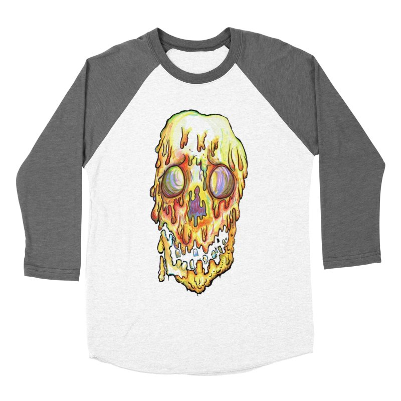 MeltFace Women's Baseball Triblend Longsleeve T-Shirt by wisheyeveiw's Artist Shop