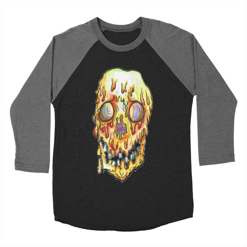 MeltFace Women's Baseball Triblend Longsleeve T-Shirt by WishEyeVeiw's Tshirt & Junk Emporium!