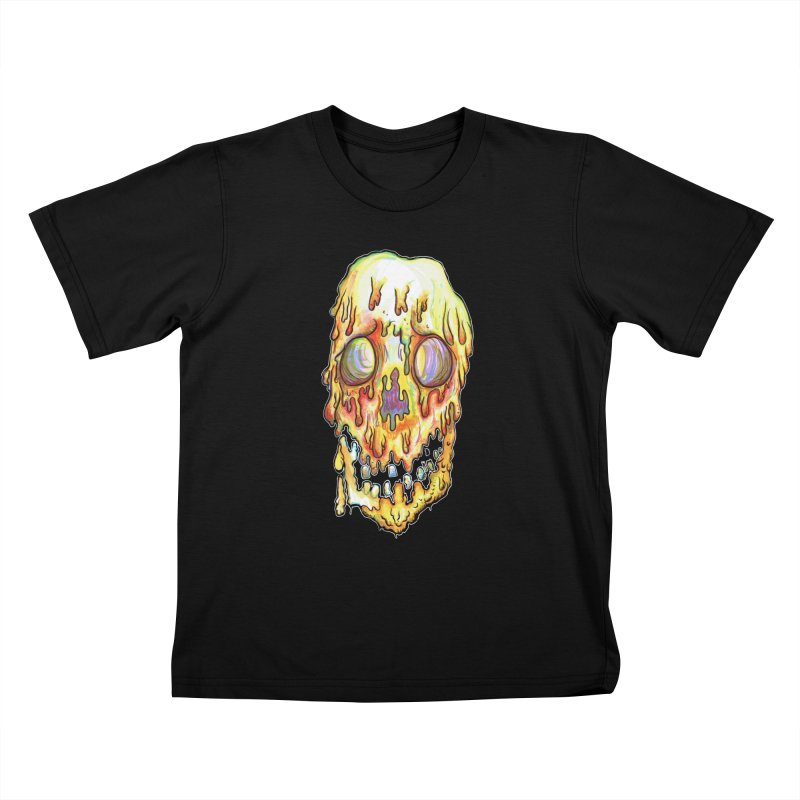 MeltFace Kids T-Shirt by wisheyeveiw's Artist Shop