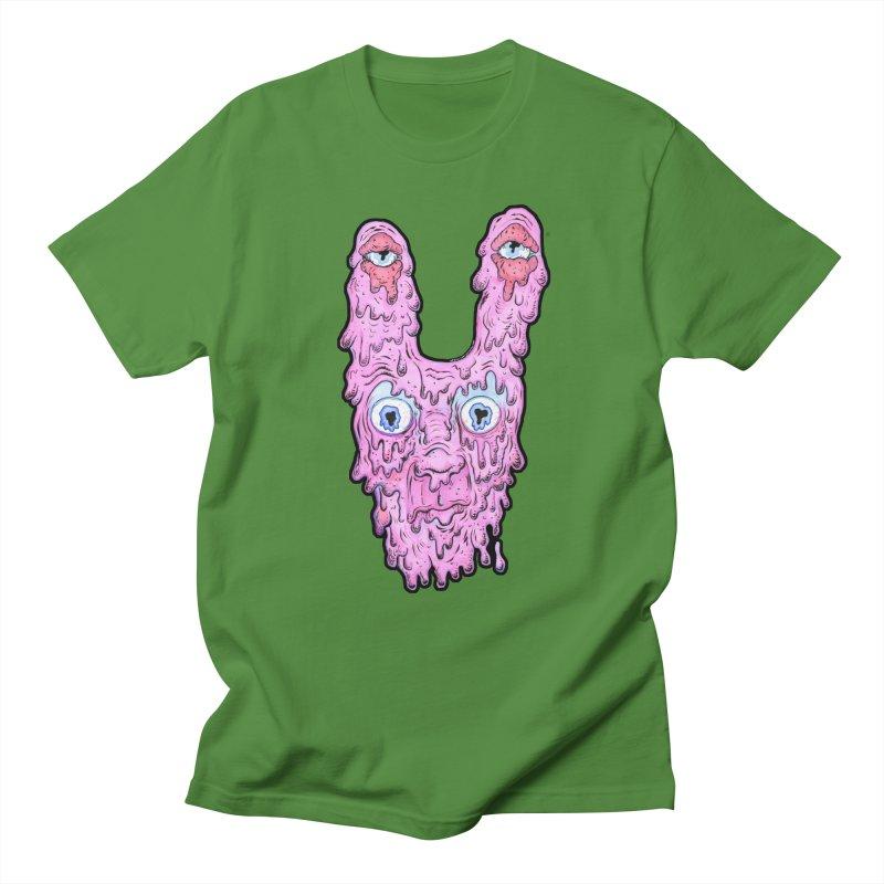 Melt Bunny Men's T-Shirt by WishEyeVeiw's Tshirt & Junk Emporium!