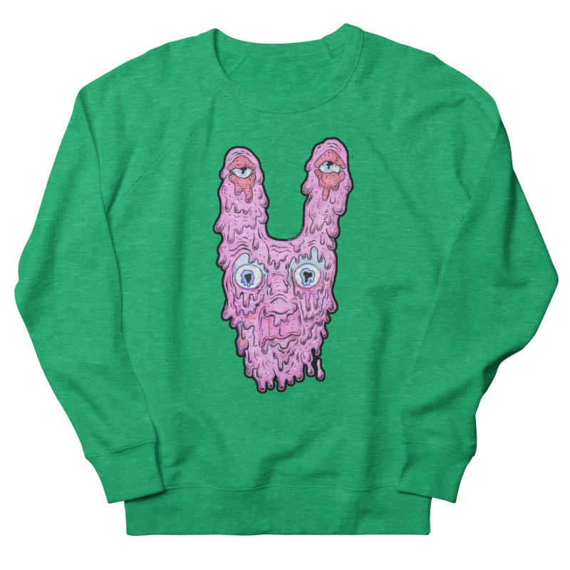 Melt Bunny Men's French Terry Sweatshirt by WishEyeVeiw's Tshirt & Junk Emporium!