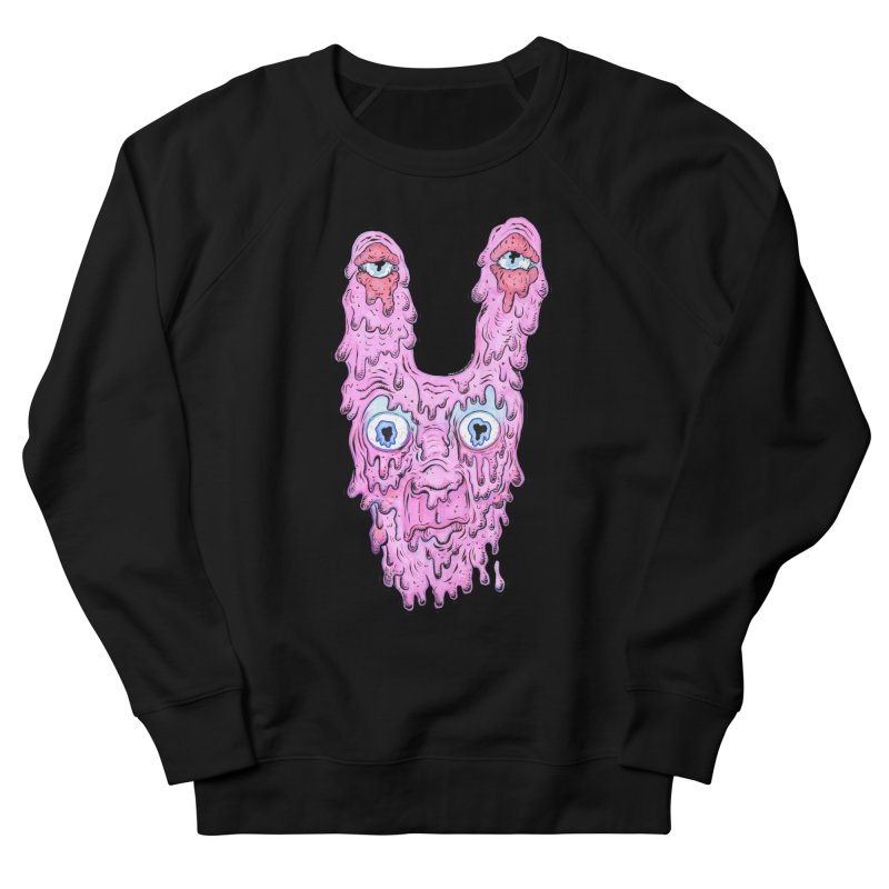Melt Bunny Men's French Terry Sweatshirt by WishEyeVeiw's Tshirt & Junk Emporium!