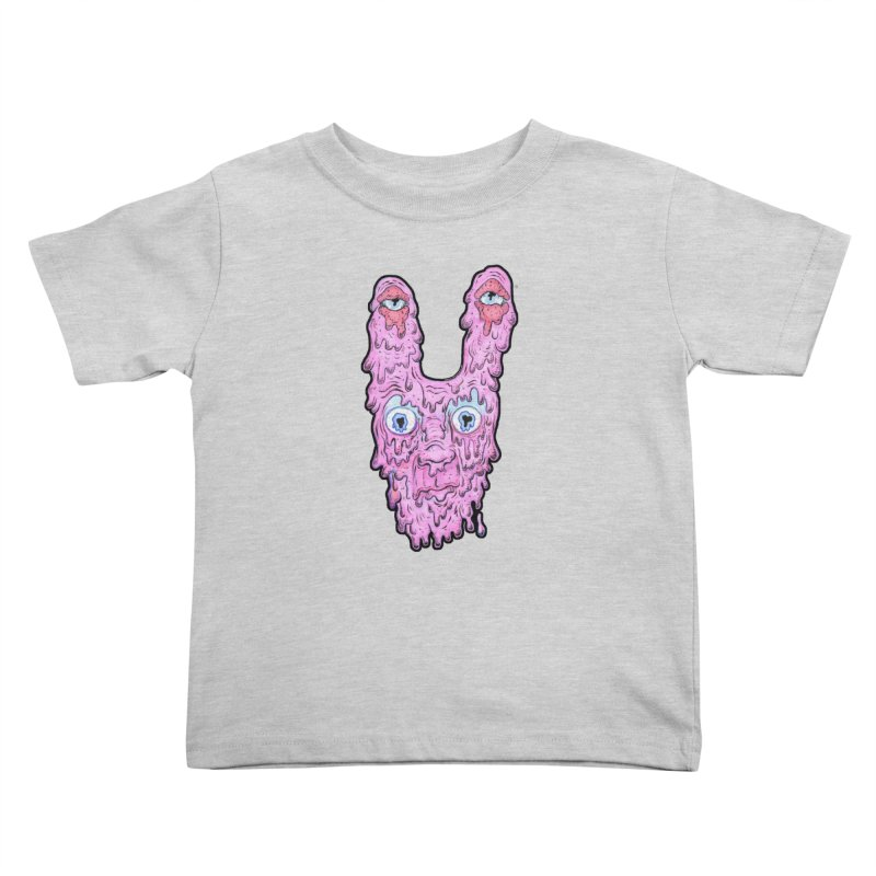 Melt Bunny Kids Toddler T-Shirt by WishEyeVeiw's Tshirt & Junk Emporium!