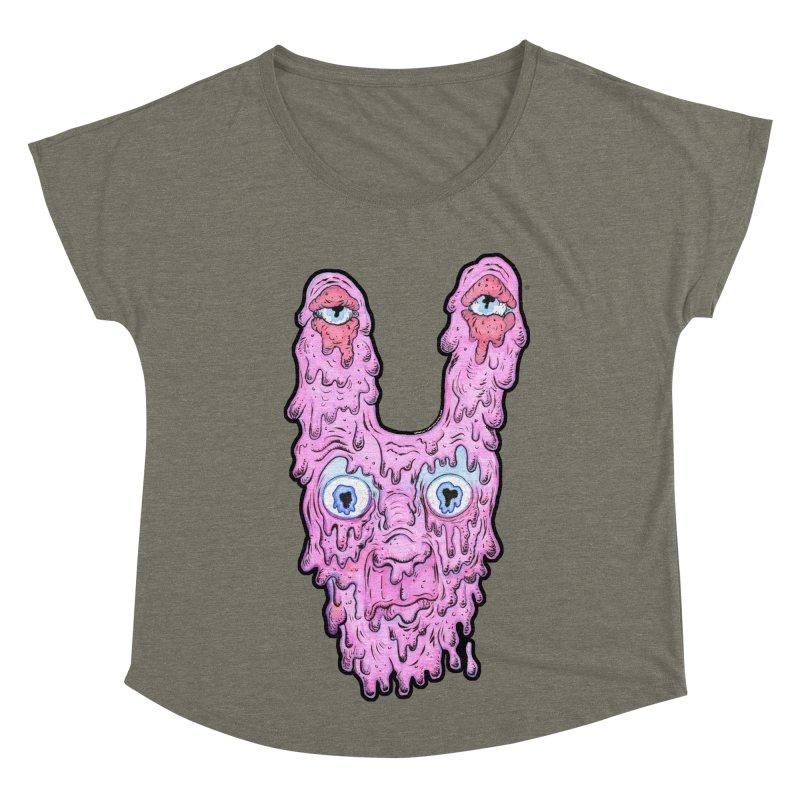 Melt Bunny Women's Dolman Scoop Neck by WishEyeVeiw's Tshirt & Junk Emporium!