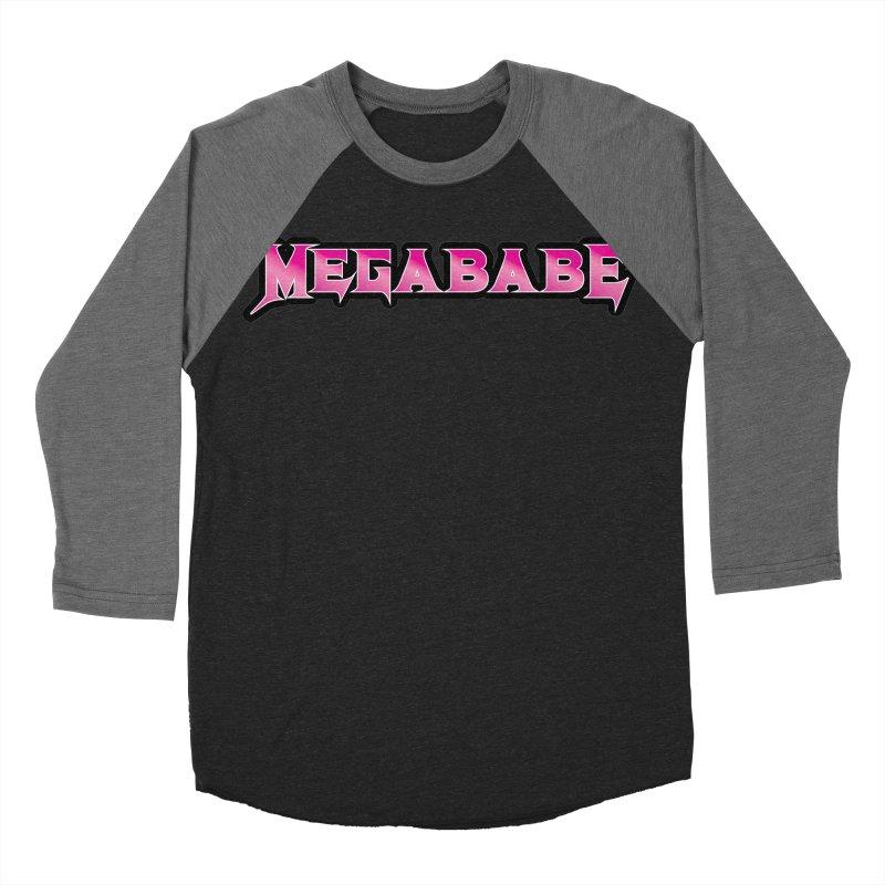 Megababe Women's Baseball Triblend Longsleeve T-Shirt by WishEyeVeiw's Tshirt & Junk Emporium!