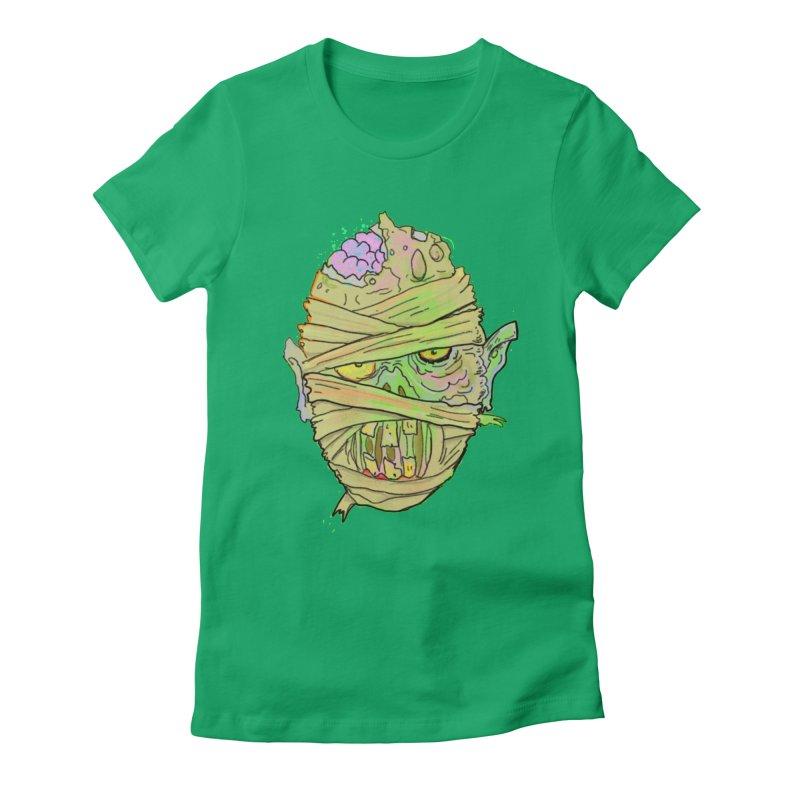 Mummy! Women's Fitted T-Shirt by WishEyeVeiw's Tshirt & Junk Emporium!
