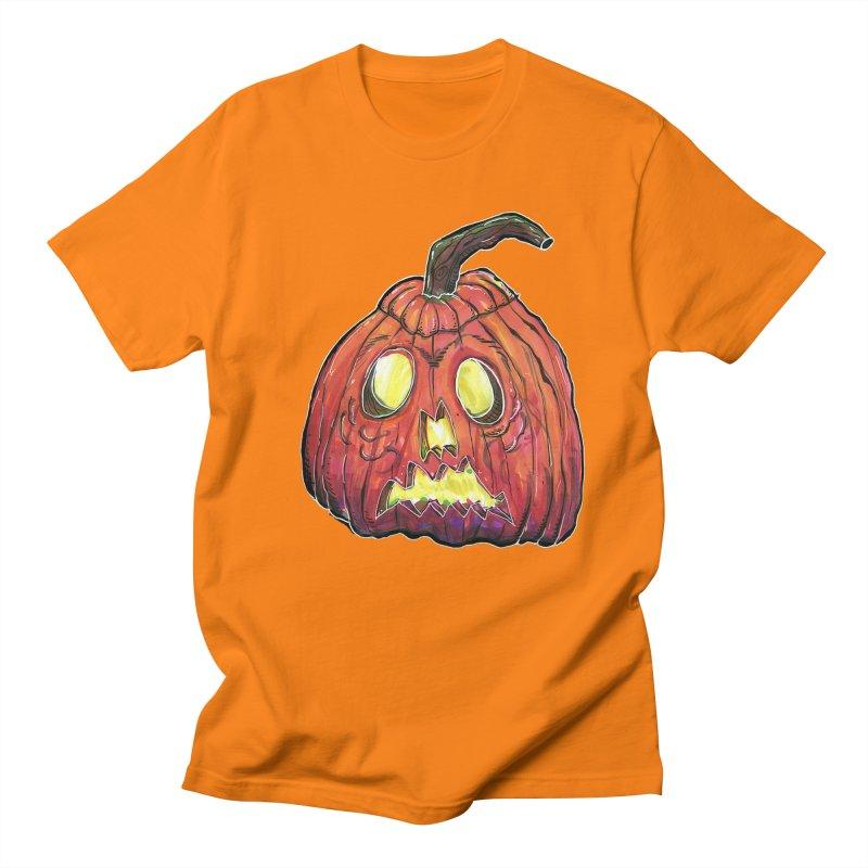 Jack in Men's Regular T-Shirt Orange by WishEyeVeiw's Tshirt & Junk Emporium!