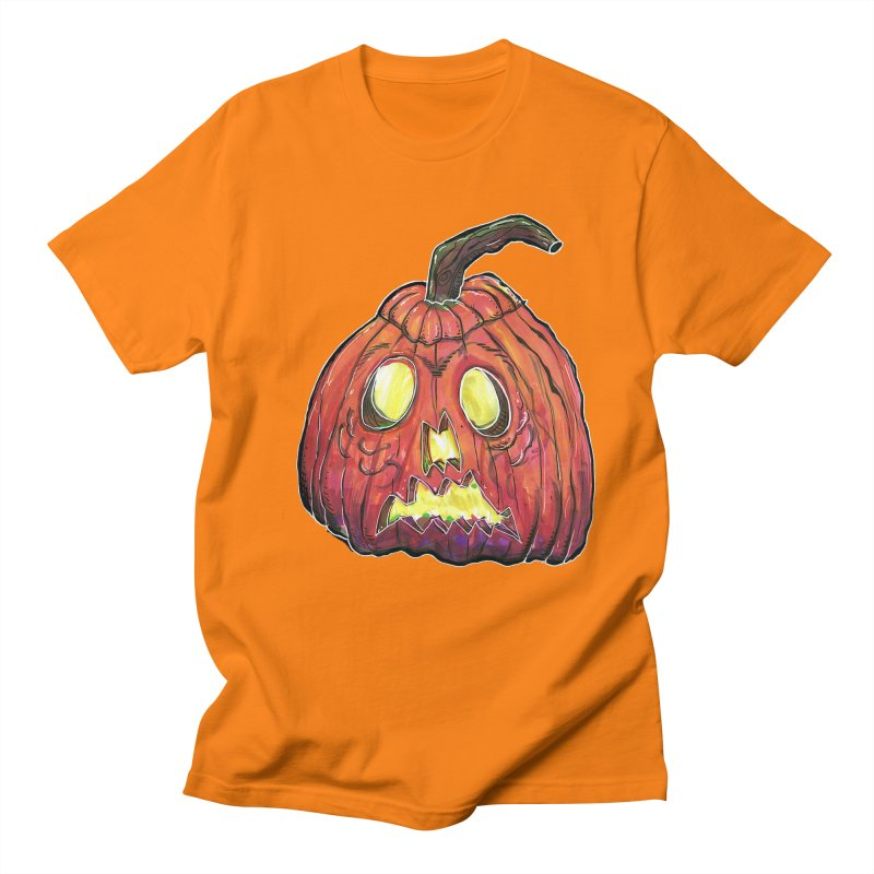 Jack in Men's Regular T-Shirt Orange by WishEyeVeiw's Tshirt & Junk Emporium!