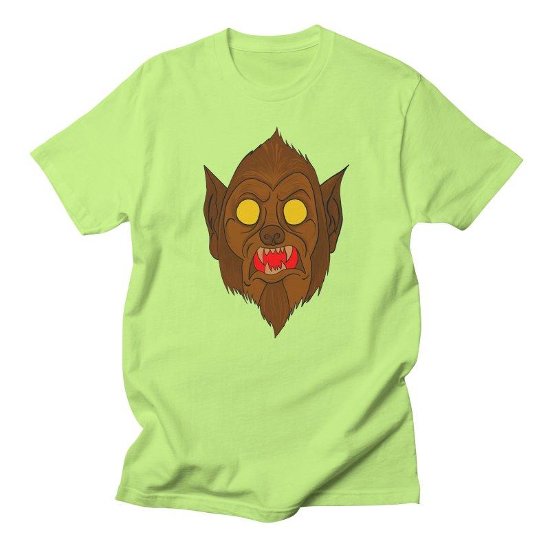 Wolfy! Men's Regular T-Shirt by WishEyeVeiw's Tshirt & Junk Emporium!