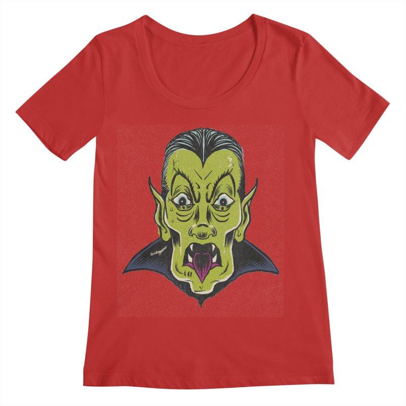WAMPYR! Women's Regular Scoop Neck by WishEyeVeiw's Tshirt & Junk Emporium!