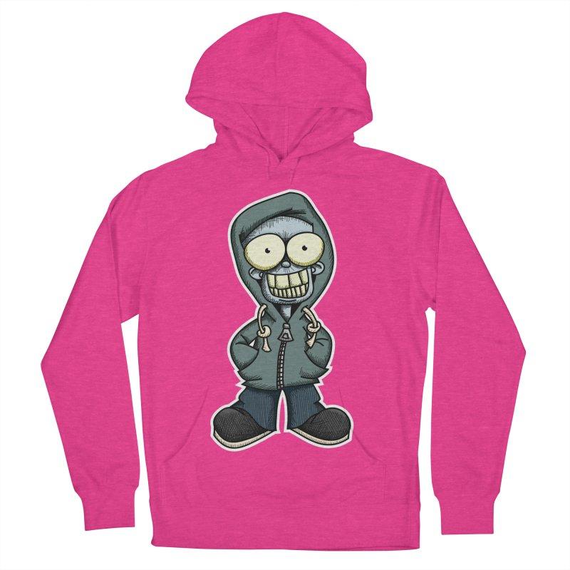 Creepy Hoodie Boy Women's Pullover Hoody by wislander's Artist Shop