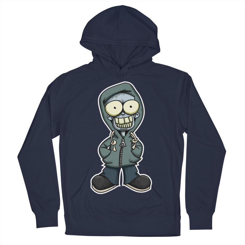 Creepy Hoodie Boy Women's Pullover Hoody by wislander's Artist Shop
