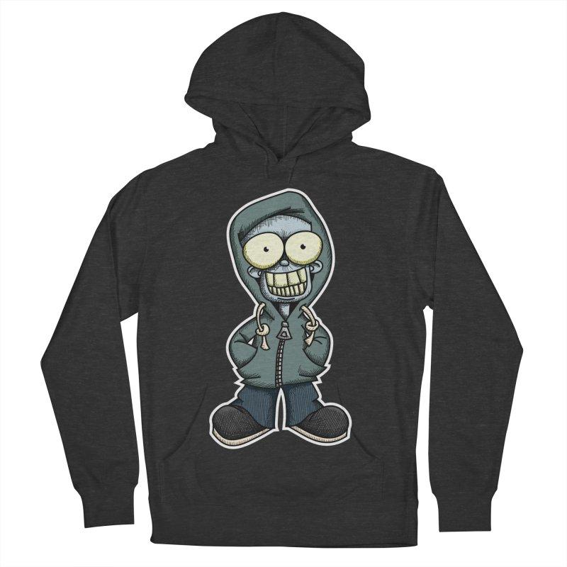 Creepy Hoodie Boy Men's Pullover Hoody by wislander's Artist Shop