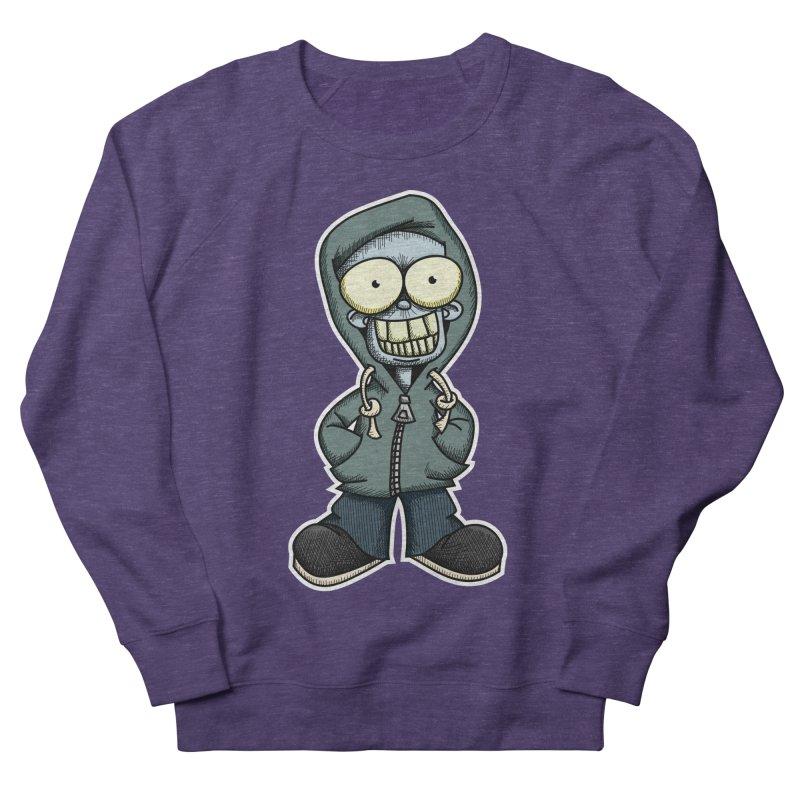 Creepy Hoodie Boy Women's Sweatshirt by wislander's Artist Shop
