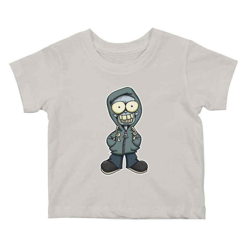 Creepy Hoodie Boy Kids Baby T-Shirt by wislander's Artist Shop