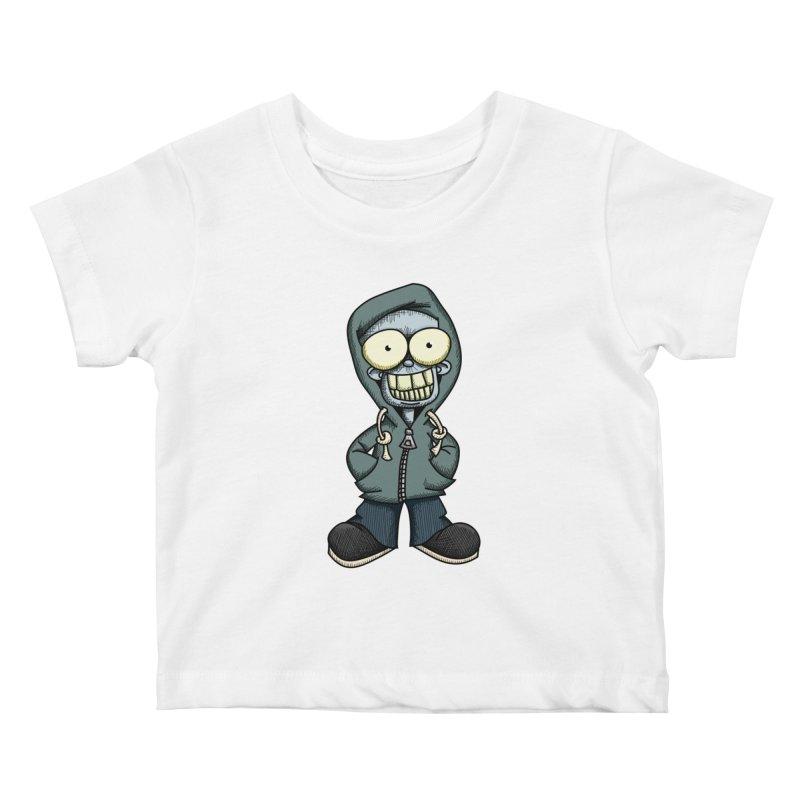 Creepy Hoodie Boy Kids Baby T-Shirt by wislander's Artist Shop