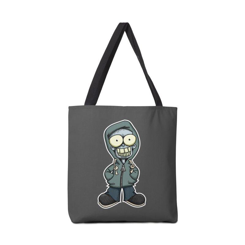 Creepy Hoodie Boy Accessories Bag by wislander's Artist Shop