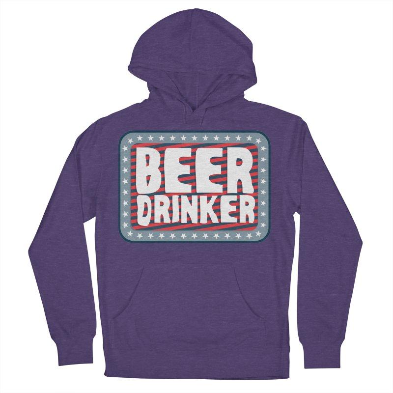 Beer Drinker #2 Men's Pullover Hoody by wislander's Artist Shop