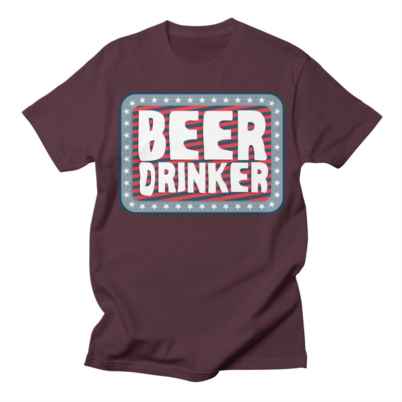 Beer Drinker #2 Women's Unisex T-Shirt by wislander's Artist Shop
