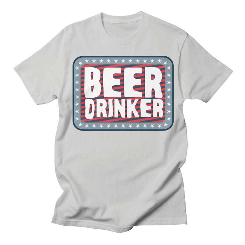 Beer Drinker #2 Women's Unisex T-Shirt by wislander's Artist Shop