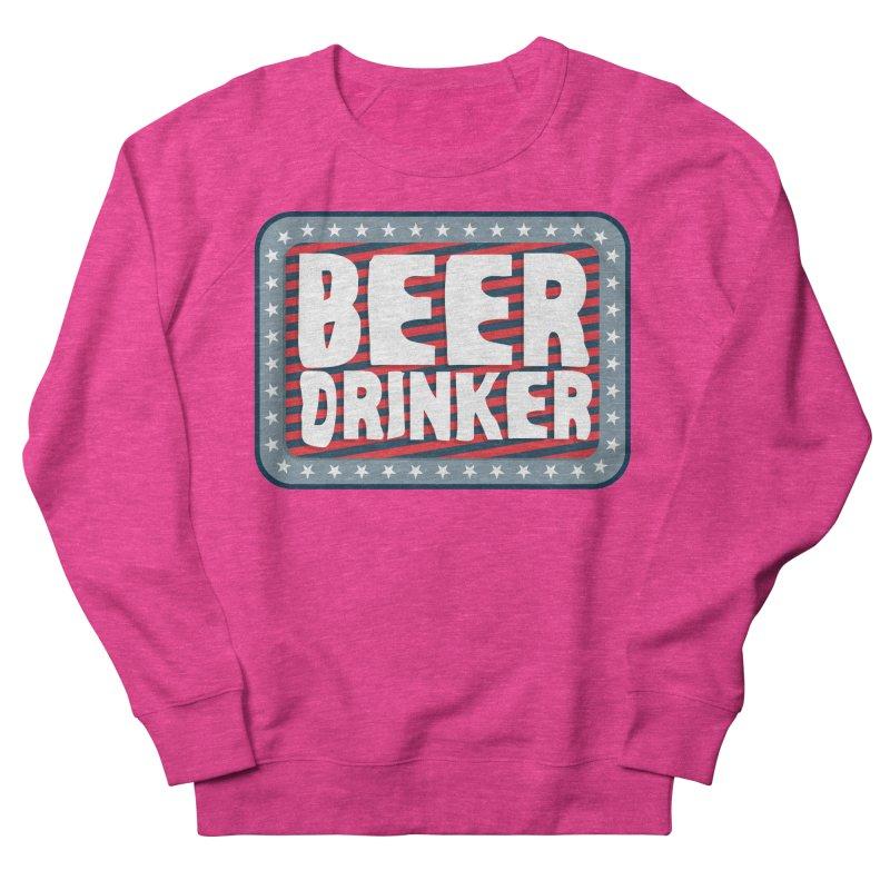 Beer Drinker #2 Women's French Terry Sweatshirt by wislander's Artist Shop