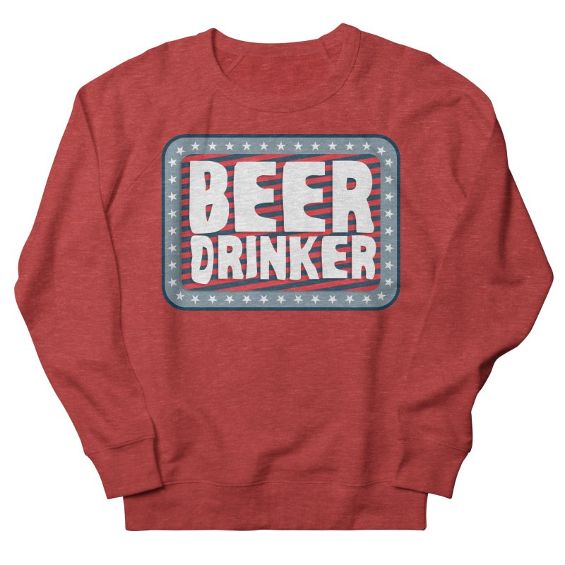 Beer Drinker #2 Men's Sweatshirt by wislander's Artist Shop