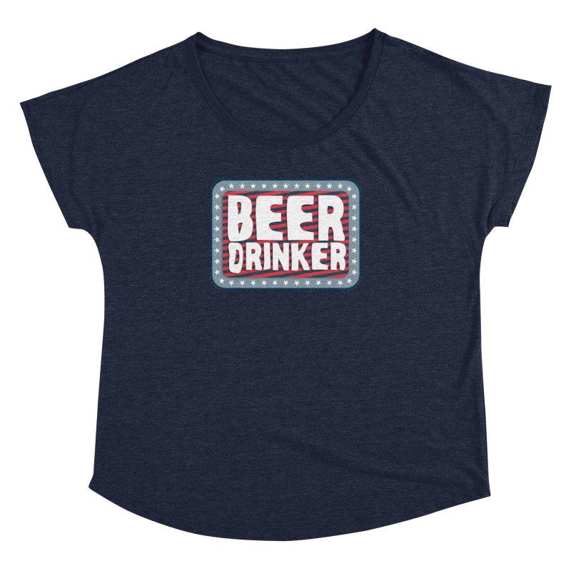 Beer Drinker #2 Women's Dolman by wislander's Artist Shop