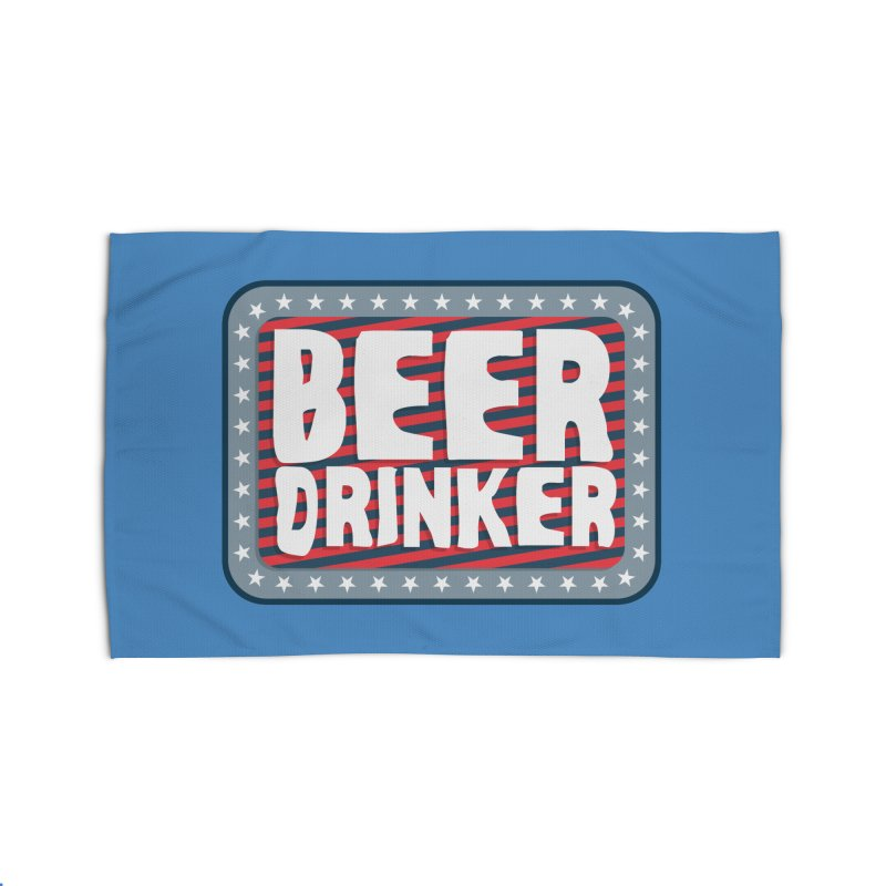 Beer Drinker #2 Home Rug by wislander's Artist Shop