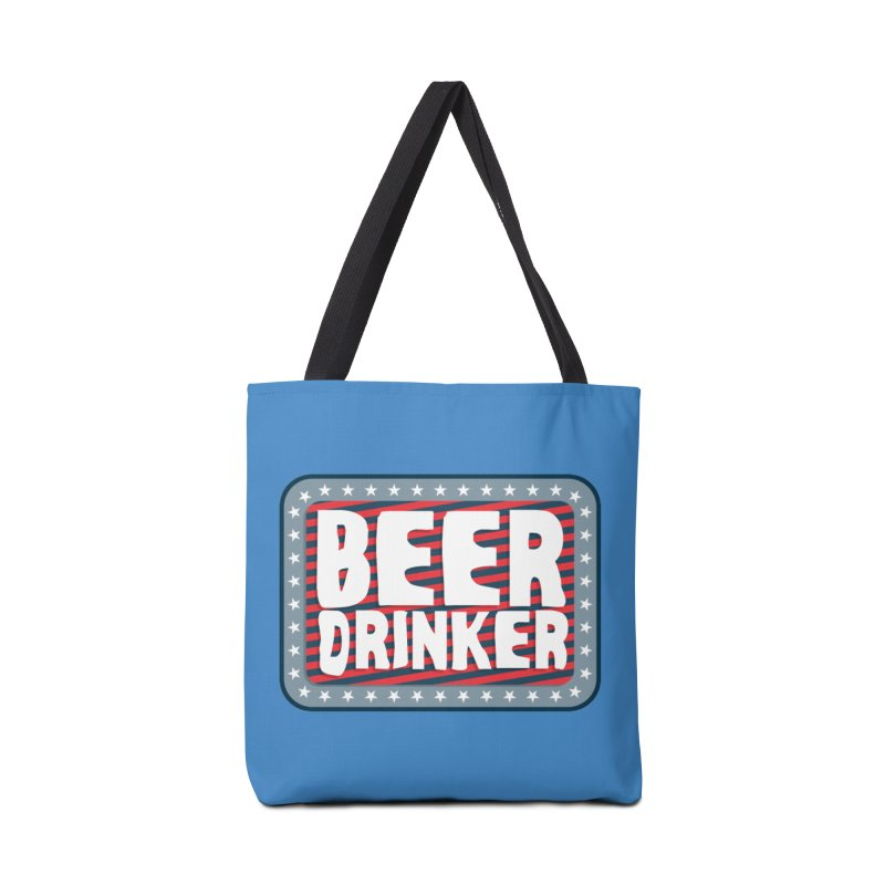 Beer Drinker #2 Accessories Bag by wislander's Artist Shop