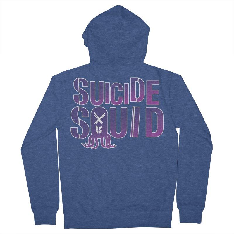 Suicide Squid Men's Zip-Up Hoody by wislander's Artist Shop