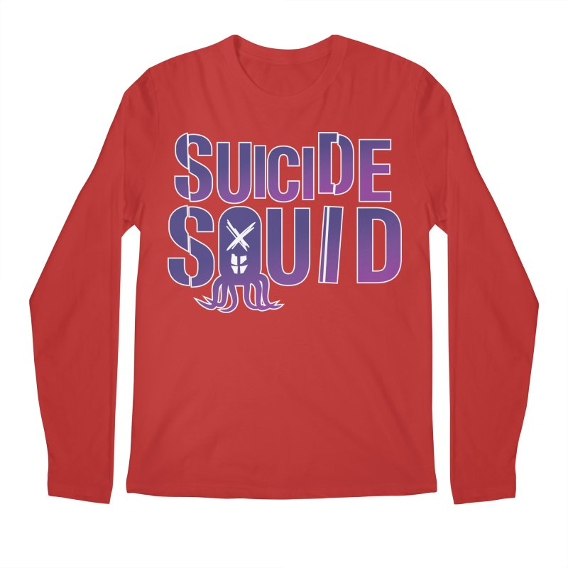 Suicide Squid Men's Longsleeve T-Shirt by wislander's Artist Shop
