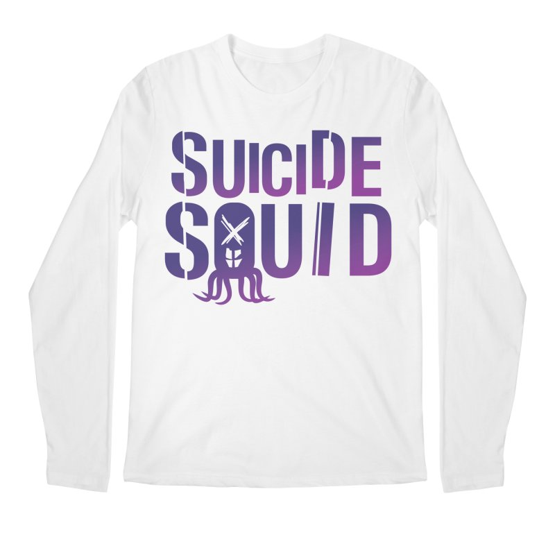 Suicide Squid Men's Longsleeve T-Shirt by wislander's Artist Shop