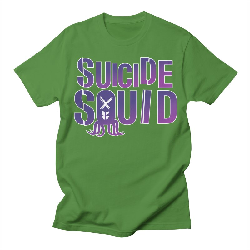 Suicide Squid Men's Regular T-Shirt by wislander's Artist Shop