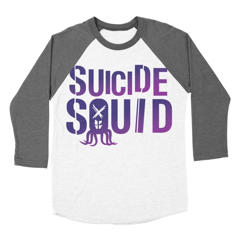 Suicide Squid Men's Baseball Triblend T-Shirt by wislander's Artist Shop