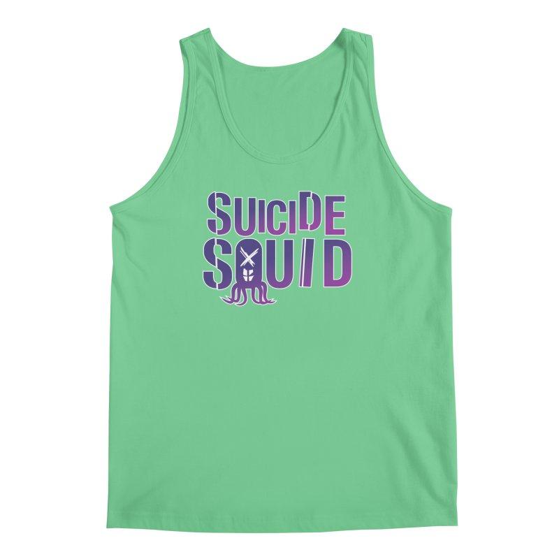 Suicide Squid Men's Tank by wislander's Artist Shop