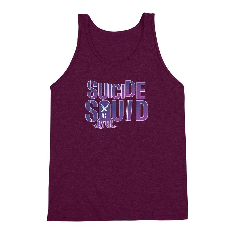 Suicide Squid Men's Triblend Tank by wislander's Artist Shop