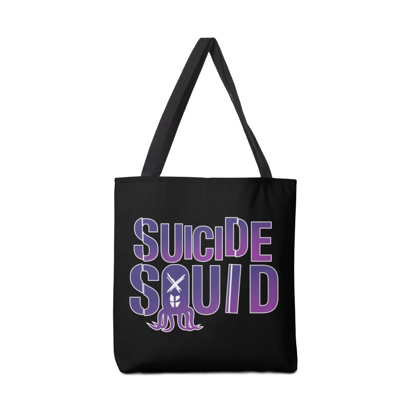 Suicide Squid Accessories Bag by wislander's Artist Shop