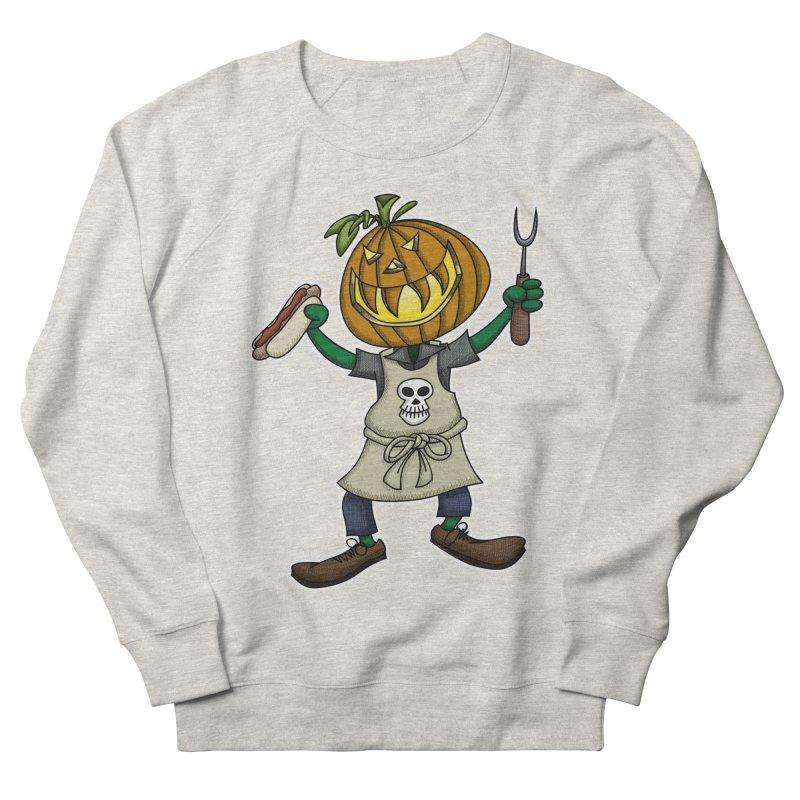 Pumpkinhead Grilling   by wislander's Artist Shop