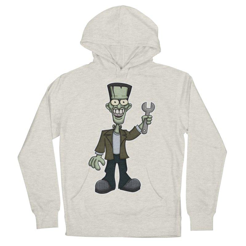 Frankenstein with a Wrench Men's Pullover Hoody by wislander's Artist Shop