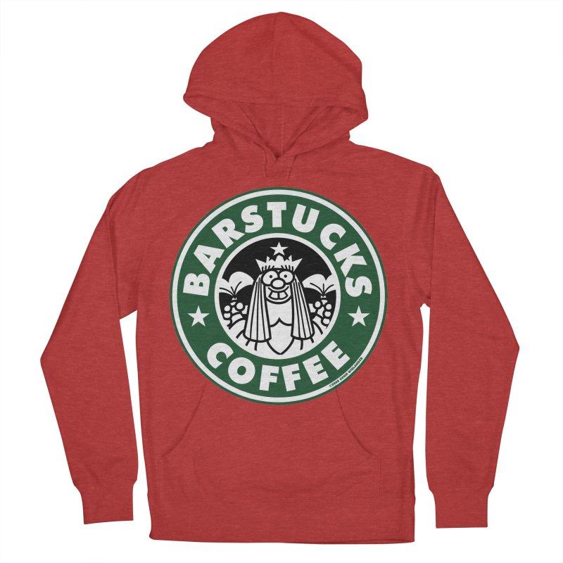Barstucks Coffee Women's Pullover Hoody by wislander's Artist Shop