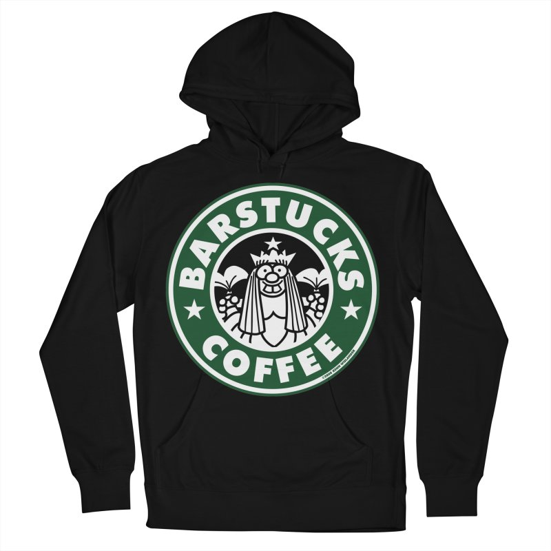 Barstucks Coffee Men's Pullover Hoody by wislander's Artist Shop