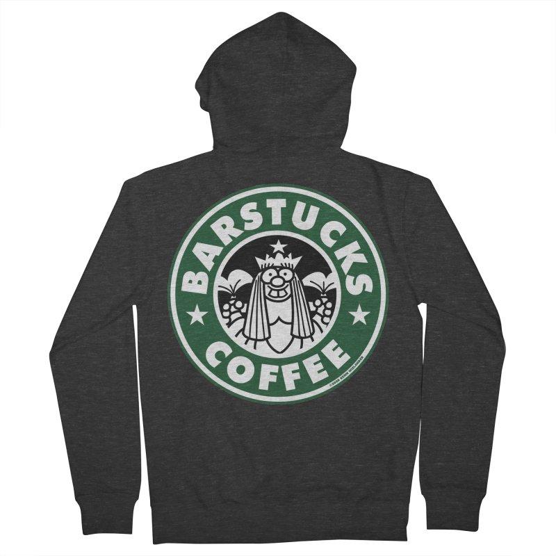 Barstucks Coffee Women's Zip-Up Hoody by wislander's Artist Shop