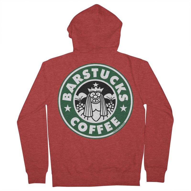 Barstucks Coffee Men's Zip-Up Hoody by wislander's Artist Shop