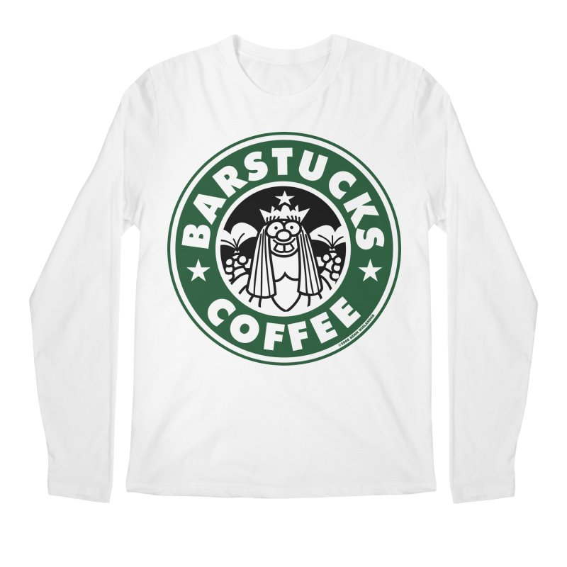 Barstucks Coffee Men's Longsleeve T-Shirt by wislander's Artist Shop